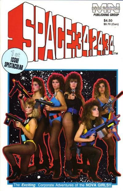 Cover for SPACE: 34-24-34 (MN Design Productions, 1989 series) #[1]