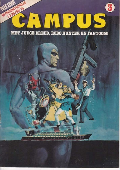 Cover for Campus (Dendros, 1982 series) #3