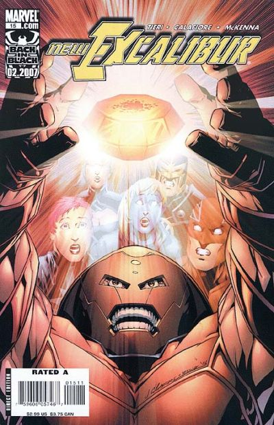 Cover for New Excalibur (Marvel, 2006 series) #15 [Direct Edition]