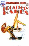 Cover for Broadway Babes (Avalon Communications, 1998 series) #1