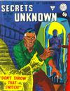 Cover for Secrets of the Unknown (Alan Class, 1962 series) #136