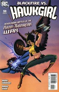 Cover Thumbnail for Hawkgirl (DC, 2006 series) #59