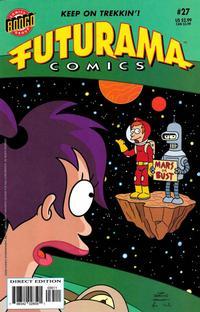 Cover Thumbnail for Bongo Comics Presents Futurama Comics (Bongo, 2000 series) #27 [Direct Edition]