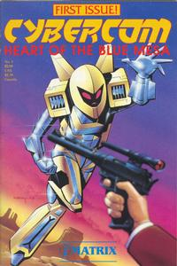 Cover Thumbnail for Cybercom, Heart of the Blue Mesa (Matrix Graphic Series, 1987 series) #1