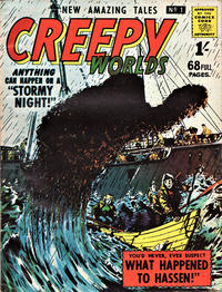 Cover Thumbnail for Creepy Worlds (Alan Class, 1962 series) #1
