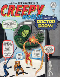 Cover Thumbnail for Creepy Worlds (Alan Class, 1962 series) #36