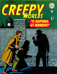 Cover Thumbnail for Creepy Worlds (Alan Class, 1962 series) #90