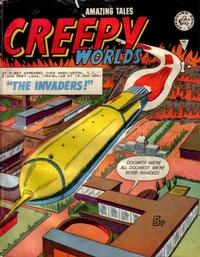 Cover Thumbnail for Creepy Worlds (Alan Class, 1962 series) #122