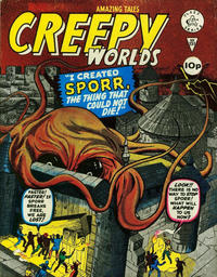 Cover Thumbnail for Creepy Worlds (Alan Class, 1962 series) #151