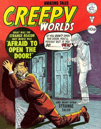 Cover Thumbnail for Creepy Worlds (Alan Class, 1962 series) #154