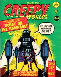Cover Thumbnail for Creepy Worlds (Alan Class, 1962 series) #185