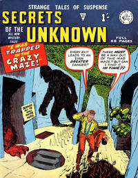 Cover Thumbnail for Secrets of the Unknown (Alan Class, 1962 series) #37