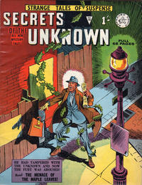 Cover Thumbnail for Secrets of the Unknown (Alan Class, 1962 series) #43