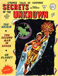 Cover Thumbnail for Secrets of the Unknown (Alan Class, 1962 series) #68