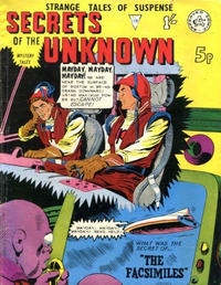 Cover Thumbnail for Secrets of the Unknown (Alan Class, 1962 series) #119