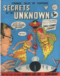 Cover Thumbnail for Secrets of the Unknown (Alan Class, 1962 series) #127