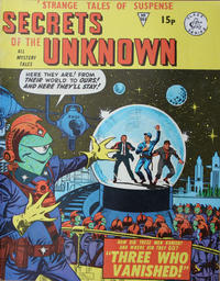 Cover Thumbnail for Secrets of the Unknown (Alan Class, 1962 series) #161