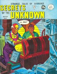 Cover Thumbnail for Secrets of the Unknown (Alan Class, 1962 series) #165