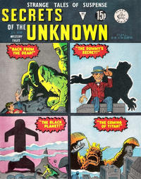 Cover Thumbnail for Secrets of the Unknown (Alan Class, 1962 series) #172