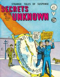 Cover Thumbnail for Secrets of the Unknown (Alan Class, 1962 series) #173