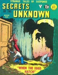 Cover Thumbnail for Secrets of the Unknown (Alan Class, 1962 series) #175
