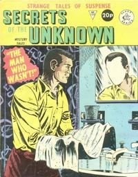Cover Thumbnail for Secrets of the Unknown (Alan Class, 1962 series) #188