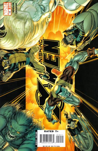 Cover for Astonishing X-Men (Marvel, 2004 series) #19 [Cyclops Cover]
