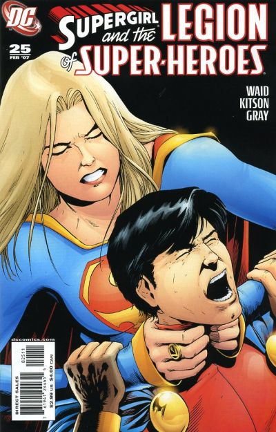 Cover for Supergirl and the Legion of Super-Heroes (DC, 2006 series) #25