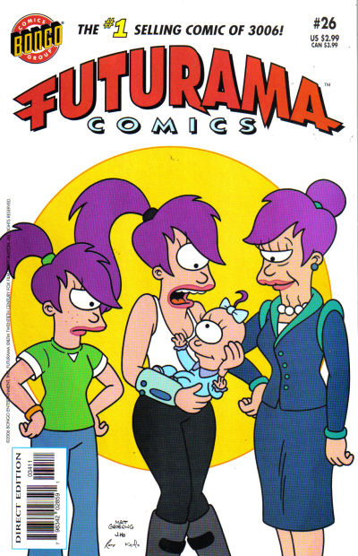 Cover for Bongo Comics Presents Futurama Comics (Bongo, 2000 series) #26