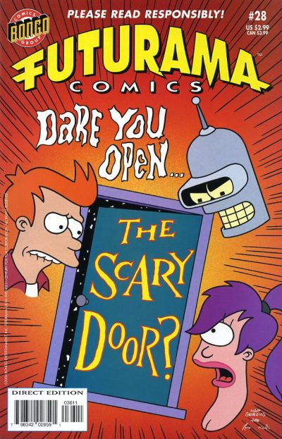 Cover for Bongo Comics Presents Futurama Comics (Bongo, 2000 series) #28