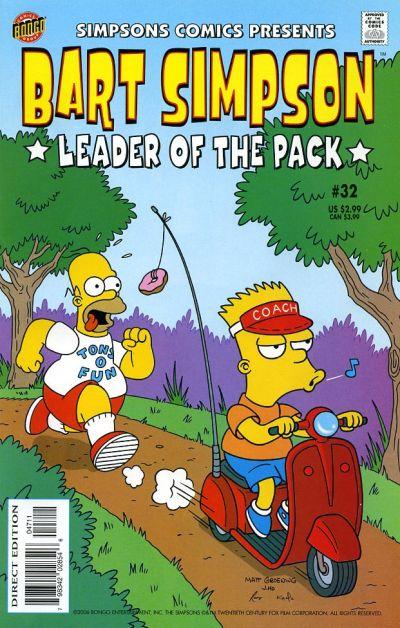 Cover for Simpsons Comics Presents Bart Simpson (Bongo, 2000 series) #32