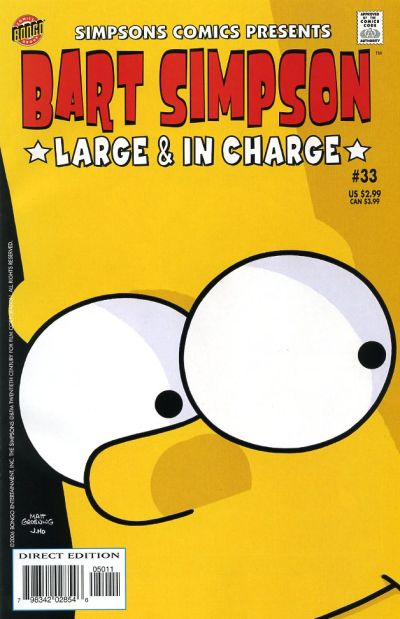 Cover for Simpsons Comics Presents Bart Simpson (Bongo, 2000 series) #33