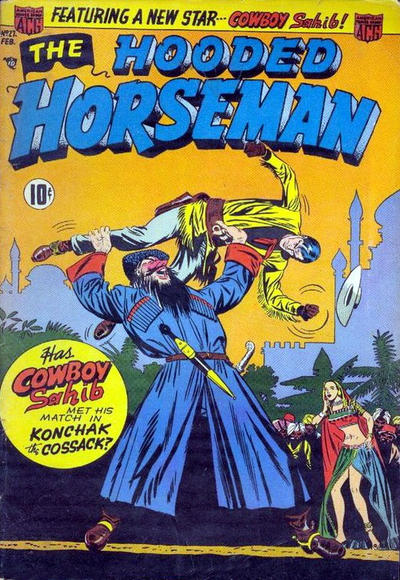 Cover for The Hooded Horseman (American Comics Group, 1952 series) #27
