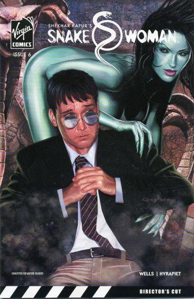 Cover for Snake Woman (Virgin, 2006 series) #6