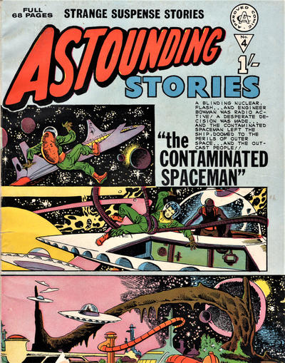 Cover for Astounding Stories (Alan Class, 1966 series) #4