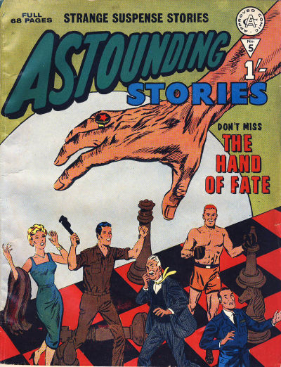 Cover for Astounding Stories (Alan Class, 1966 series) #5