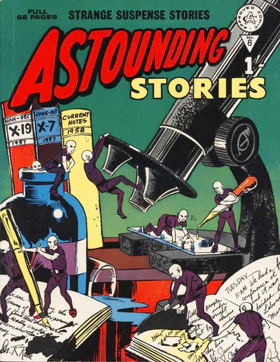 Cover for Astounding Stories (Alan Class, 1966 series) #8