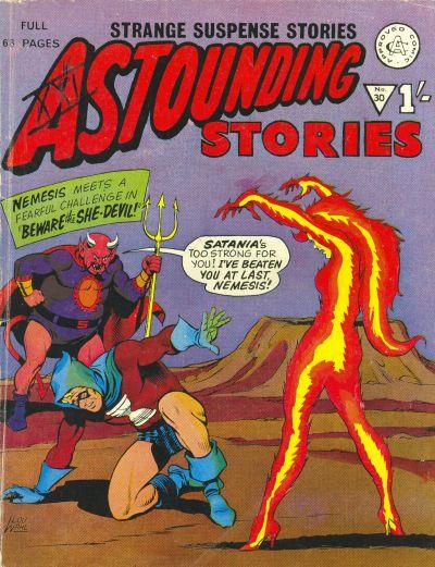 Cover for Astounding Stories (Alan Class, 1966 series) #30