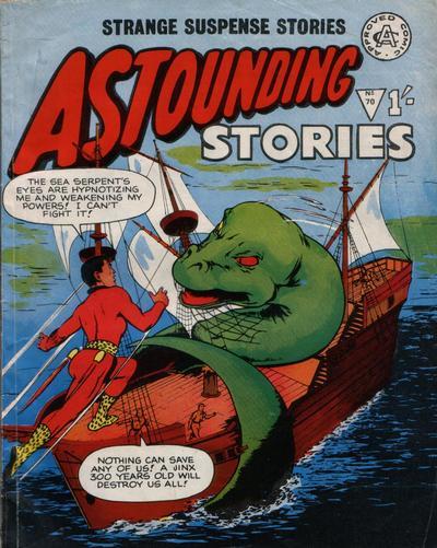 Cover for Astounding Stories (Alan Class, 1966 series) #70
