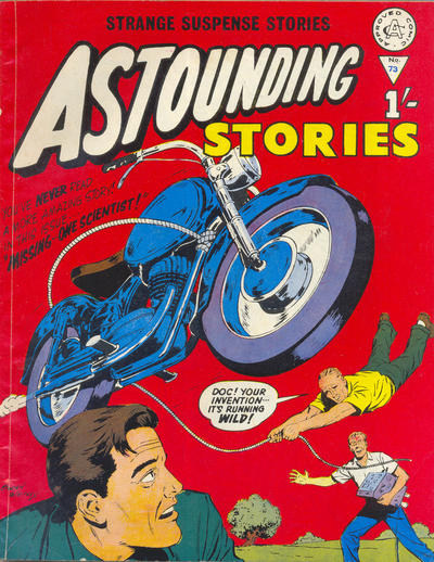 Cover for Astounding Stories (Alan Class, 1966 series) #73