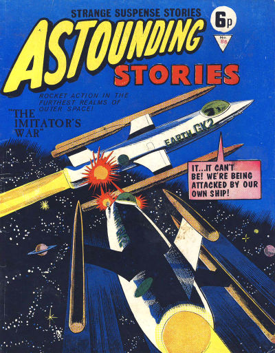 Cover for Astounding Stories (Alan Class, 1966 series) #86