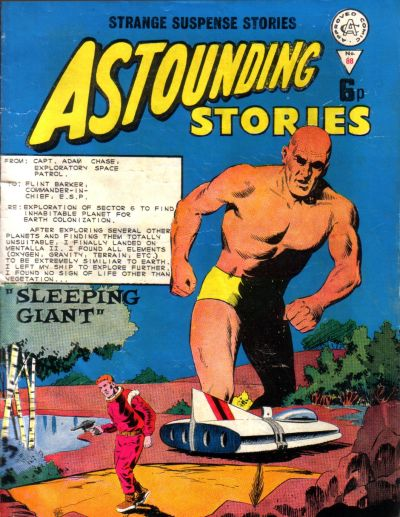 Cover for Astounding Stories (Alan Class, 1966 series) #88