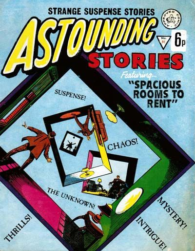 Cover for Astounding Stories (Alan Class, 1966 series) #91