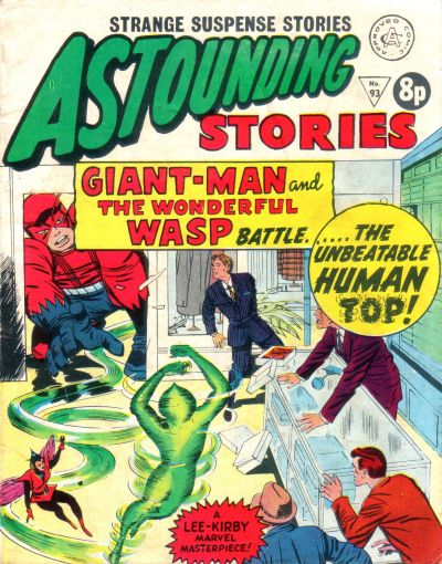 Cover for Astounding Stories (Alan Class, 1966 series) #93