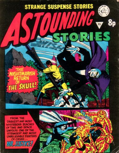 Cover for Astounding Stories (Alan Class, 1966 series) #95