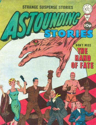 Cover for Astounding Stories (Alan Class, 1966 series) #101