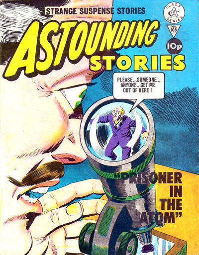 Cover for Astounding Stories (Alan Class, 1966 series) #108