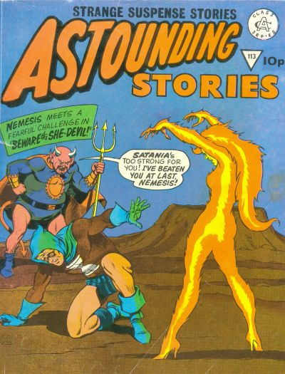Cover for Astounding Stories (Alan Class, 1966 series) #113