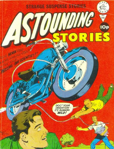 Cover for Astounding Stories (Alan Class, 1966 series) #114