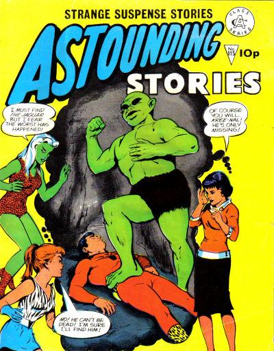 Cover for Astounding Stories (Alan Class, 1966 series) #115